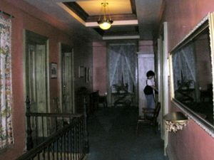 hallway in Lemp Mansion