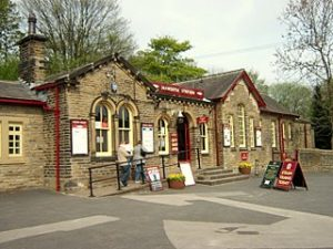 Haworth railway station exterior