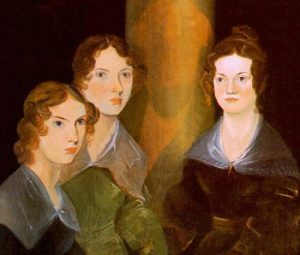 portrait of 3 Bronte sisters