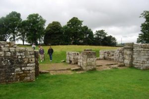 Entrance to Hadrian's wall visitors area
