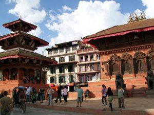 station in Kathmandu