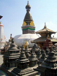 stupa of Kathmandu temple