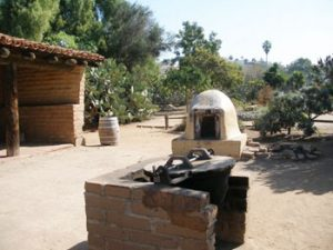 dome shaped brick oven