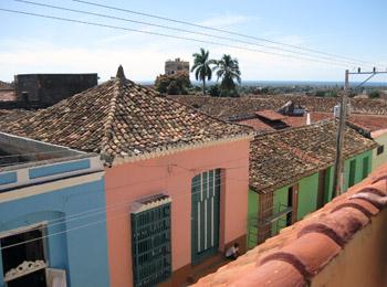 rootops in Trinidad, Cuba