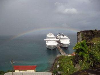 Cruise ships, Grenada