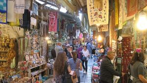 market in Old Jerusalem