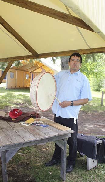 ceremonial drum