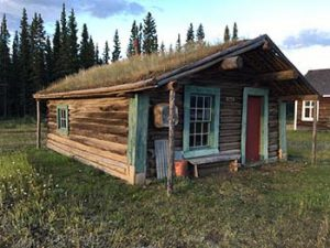 Fort Selkirk homestead building