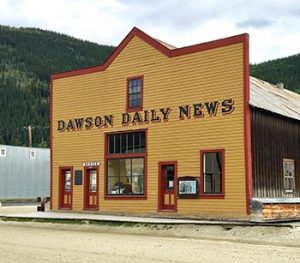 Dawson Daily News building