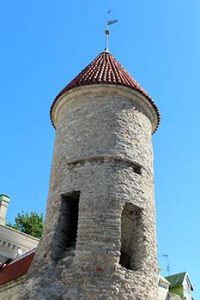 Viru Gate tower, Tallinn