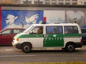 Police vehicle, Berlin
