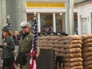 Officer at Checkpoint Charlie