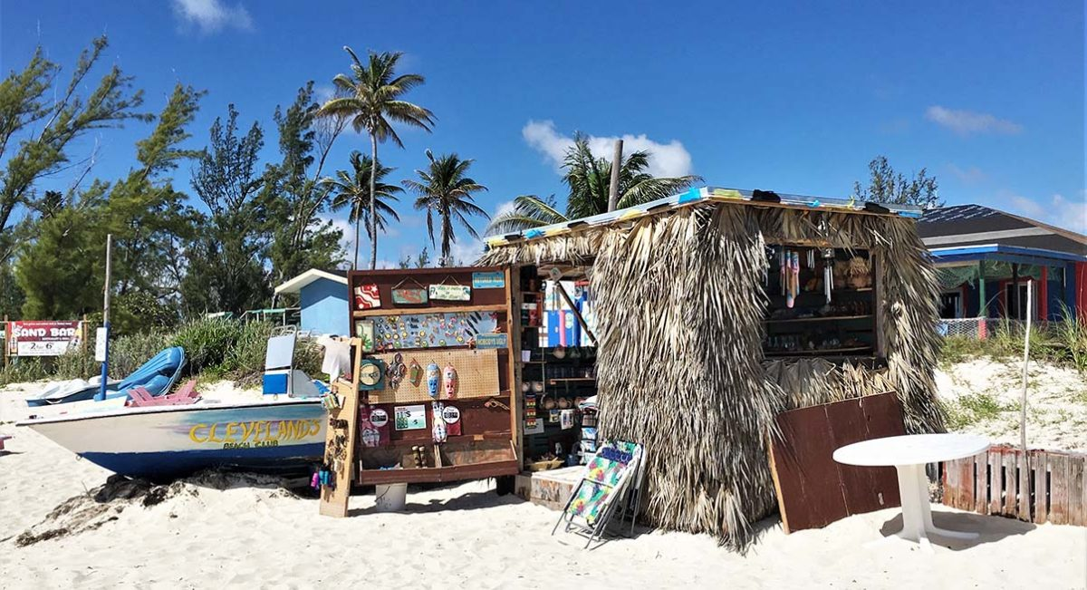 Grand Bahamas beach shed