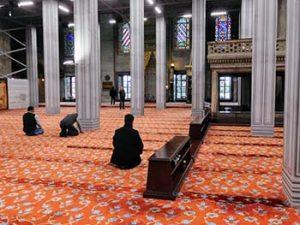 inside a mosque
