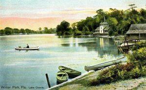 Boating on Lake Osceola Florida