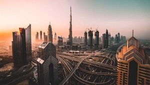 Dubai travel overlook