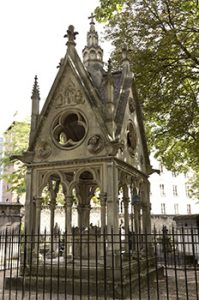 Neo Gothic tomb