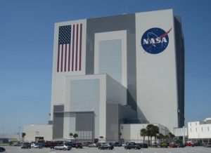 Kennedy space center vehicle building