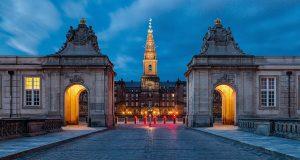 CChristiansborg Palace Copenhagen Denmark