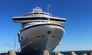Princess Cruise Baltic ship