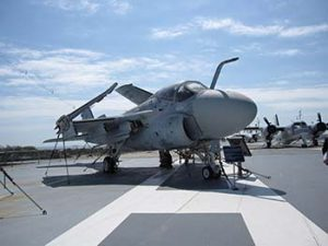 Navy planes on USS Yorktown