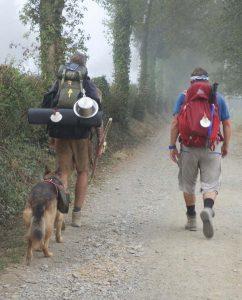 El Camino pilgrims