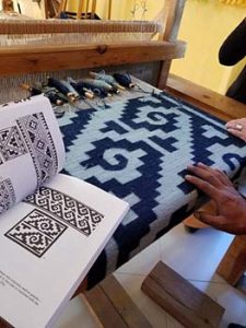 masterful weaving