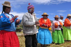 Uros people of Titicaca