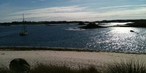 Scilly Isles beach