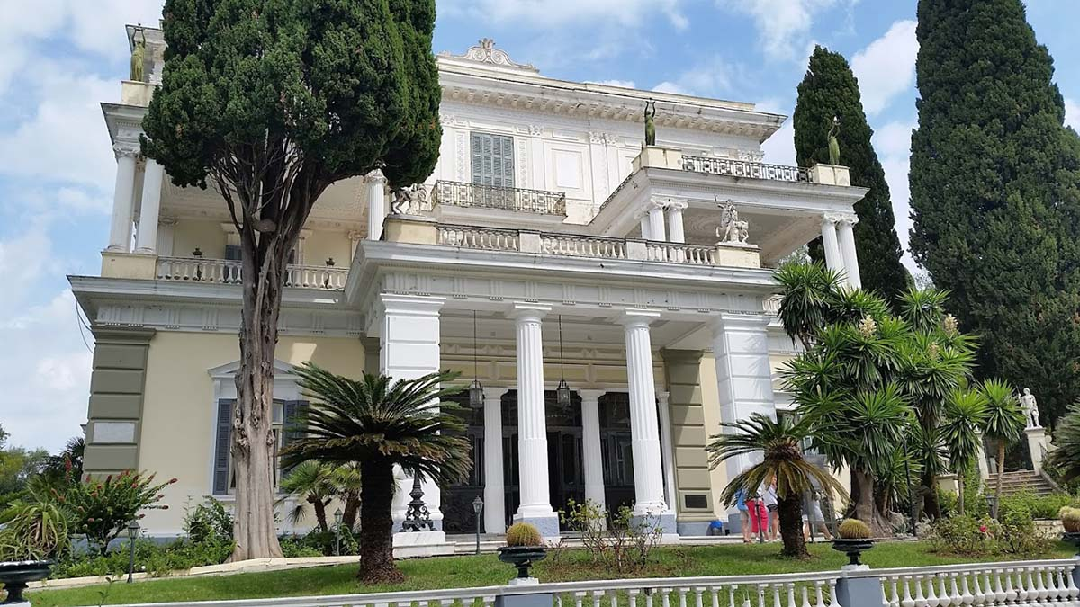 Facade of the Achilleion