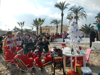 Christmas celebration in Spain
