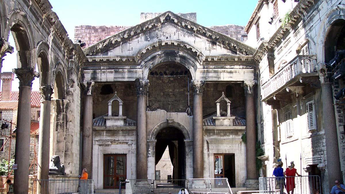 Diocletians mausoleum, Split Croatia