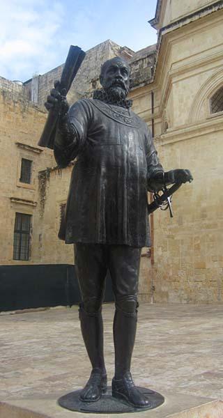 Knight Hospitaller statue
