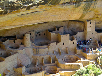 Amasazi cliff dwellings