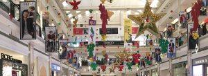 New Delhi mall decorations