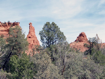 Sedona rock formations