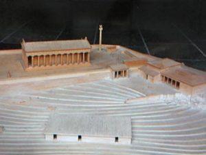 model of original site
