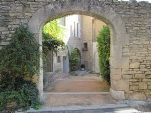 Doorway in Provence