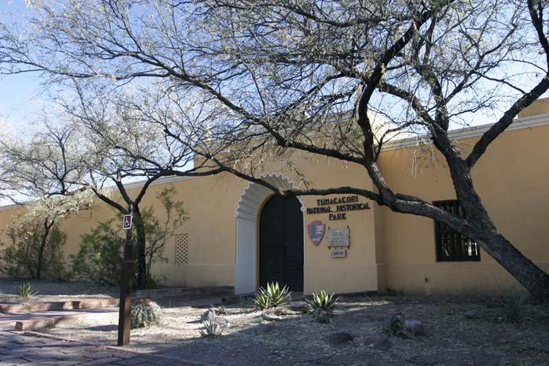 Mission San José de Tumacácori entrance