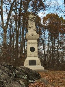 monument at Gettysburg