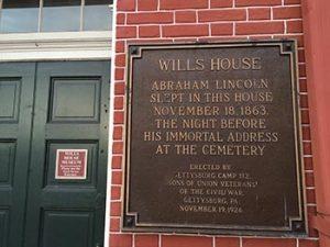 Wills house plaque