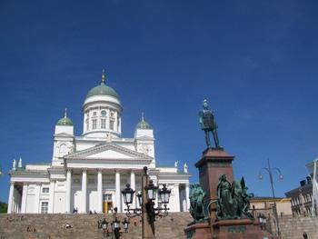 Helsinki central square