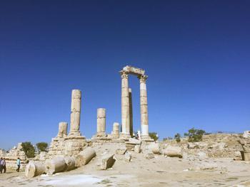 Hercules temple Amman Jordan
