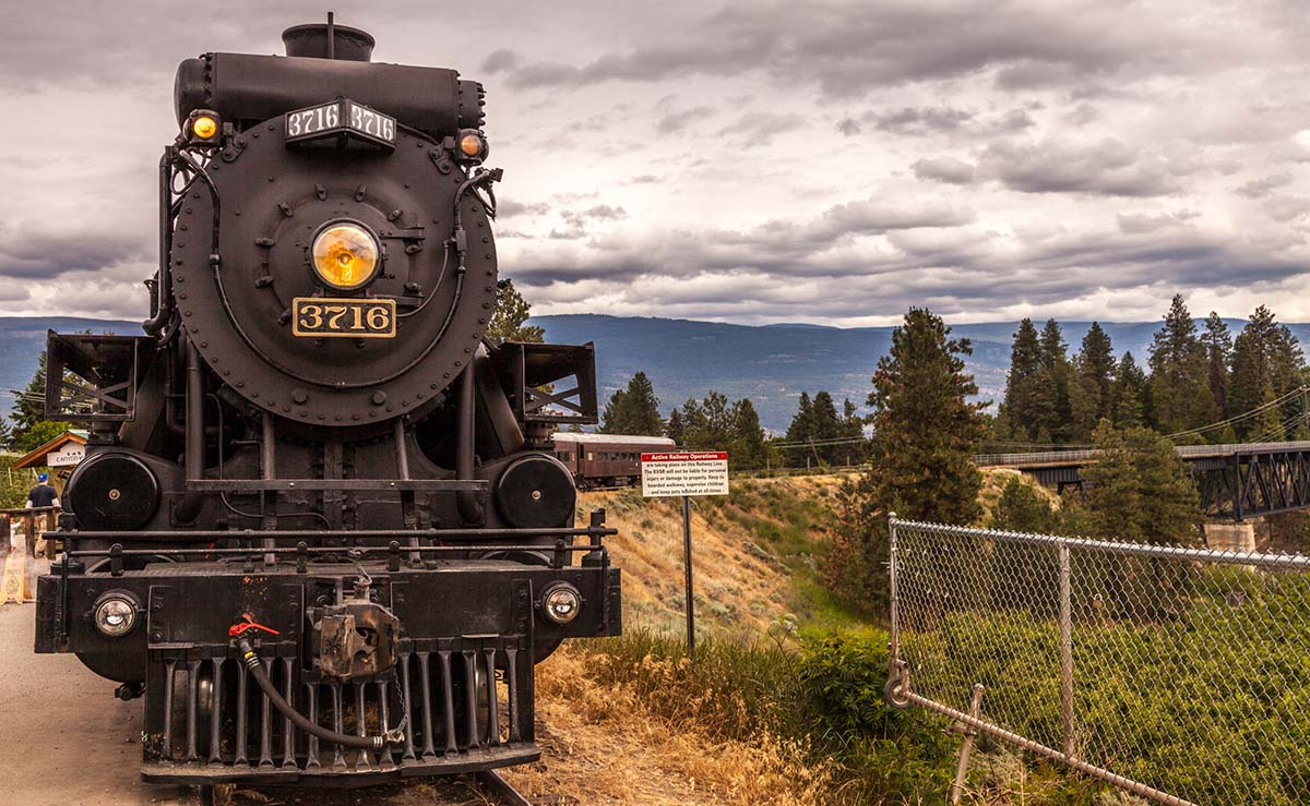 kettle valley steam engine