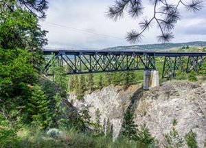 Trout Creek Trestle Railway Bridge