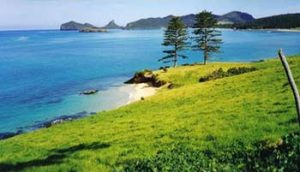 Lord Howe Island coastline