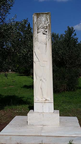 monument at Marathon, Greece