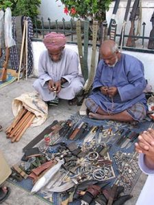 gun traders in souk