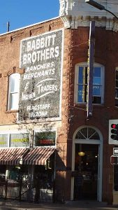 Flagstaff vintage building