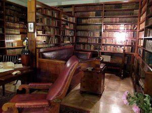 Pushkin's study